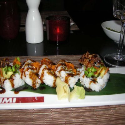A dish from Izumi restaurant