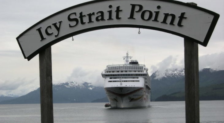 Icy Strait Point Welcome