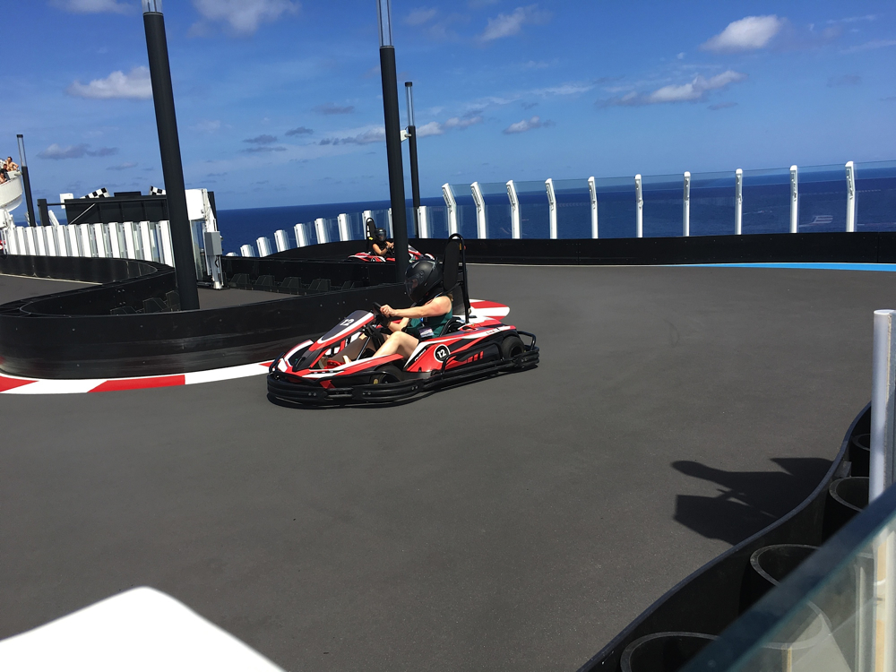Norwegian Bliss Go-Kart