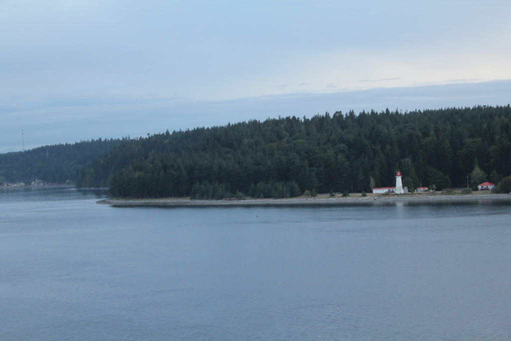 Lighthouse on the Inside Passage