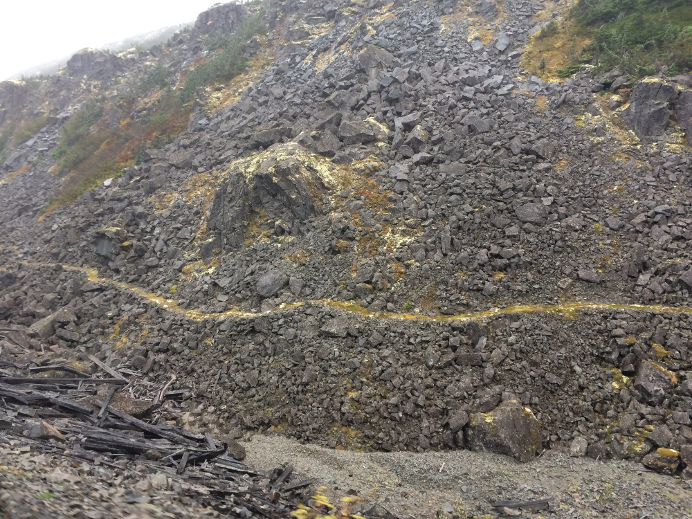 Remnants of the Chilkoot Trail
